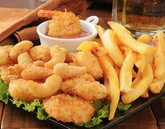 Enjoy fresh seafood at your favorite local restaurant in Panama City Beach, Florida. Relax in a casual atmosphere while watching one of 12 big screen TVs! High Protein Low Carb, Low Carb Diet, Healthy Fries, Arthritis Diet, Arthritis Hands, Fast Food, 1200 Calories, Fresh Seafood, Foods To Avoid