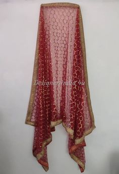 Wedding Bridal Designer Red Lace Dupatta Chunni Stole Scarves Embroiderd Net for Lehenga Suit Salwar Kameez for Women Girls Pakistani Lehenga, Lehenga Suit, Maroon Scarf, Bridal Dupatta, Indian Designer Suits, Red Wedding, Wedding Dress, Pakistani Designers, Red Lace