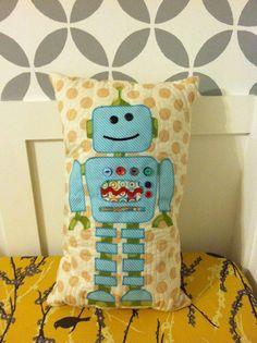 Robot Pillow!!!