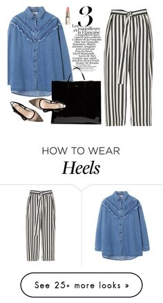"""""""Denim shirt"""" by missiny on Polyvore featuring River Island and Balenciaga"""