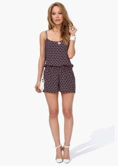 X Marks The Spot Romper