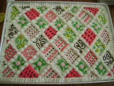 Quilt Buttons And Cakes On Pinterest