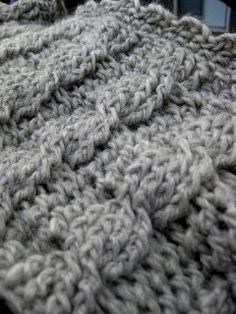 Crochet Cable Cowl Free pattern