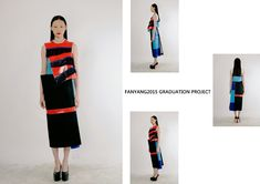 fashiondesign#graduation project#womenswear design# lookbook#FAN YANG2015