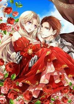 Please visit our website to support us! Manga Couple, Anime Love Couple, Anime Couples Manga, Cute Anime Couples, Romantic Manga, Anime Princess, Manga Love, Manhwa Manga, Manga Art