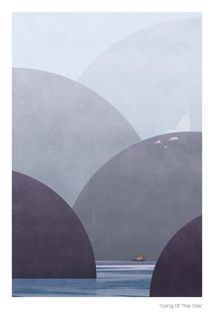 Under The Weather by Alan Barrett, via Behance