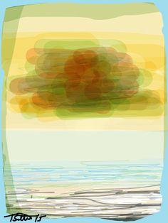 SEASCAPE Series. Storm Clouds