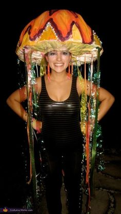 Electric Jelly Fish Costume - Halloween Costume Contest via @costumeworks