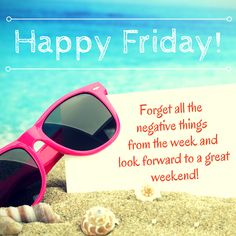 Happy Friday! Hope you all have a great #weekend! #TGIF #FridayFeeling