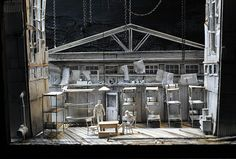 """""""OF MICE AND MEN"""" Design by Todd Rosenthal"""
