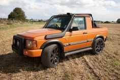 Discovery 2 Pickup conversion...