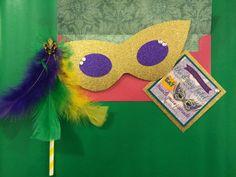 Mardi Gras Themed Bachelorette Invitations!