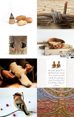 Rustic Evening by Semi Vintage on Etsy--Pinned with TreasuryPin.com