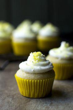 Vegan Lemon Mini Cupcakes