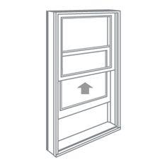 Single-Hung Window American Craftsman Andersen