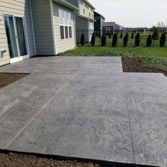Top 50 Best Stamped Concrete Patio Ideas - Outdoor Space Designs From wood grain to cobblestone styles and beyond, discover the top 50 best stamped concrete patio ideas. Explore simple to maintain outdoor space designs. Concrete Patios, Concrete Backyard, Concrete Patio Designs, Cement Patio, Concrete Patio Extension Ideas, Colored Concrete Patio, Pavers Patio, Backyard House, Small Backyard Patio
