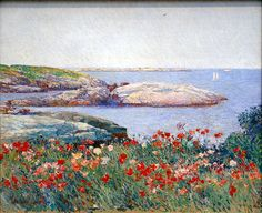 Childe Hassam, Poppies