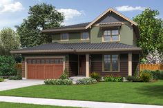 Country Style House Plan - 4 Beds 3 Baths 2315 Sq/Ft Plan #48-638 Front Elevation - Houseplans.com