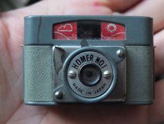 HOMER No.1 Subminiature camera film vintage small mini spy