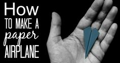 How to fold paper planes. Instructions, videos and tips.