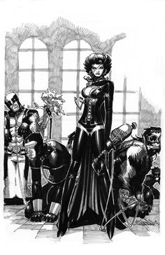 The Black Queen by Chris Bachalo