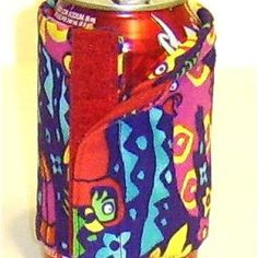 Perfect Can or Juice Box Cozy: Materials