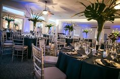 Elevee Events planned a wedding for Brent and Rex that was the definition of class, from the chic décor to the grooms in their stunning white dinner jackets