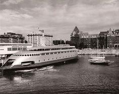 1958 file photo of ferry Kalakala in Victoria, British, Columbia.