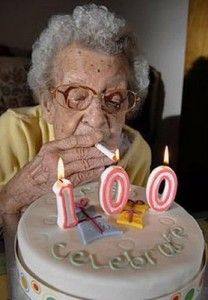 Gotta love Grandma...mine would do this if my mom didn't make her quit smoking.