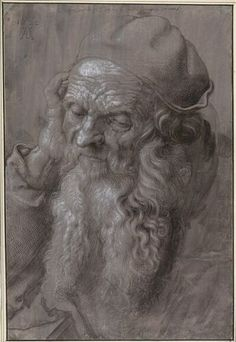 Albrecht Dürer, Bildnis eines 93-jährigen Mannes, 1521 © Albertina, Wien