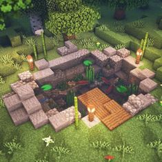 Minecraft beautiful places set in the game - Art on Paper Online