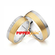 Alianças de Casamento e Noivado em Ouro 18k e Prata - ALM515