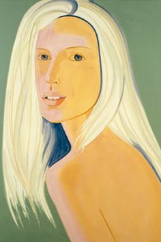 "Kate Moss plays muse to Alex Katz in September 2003's ""All About Kate."" #KateMossTurns40"