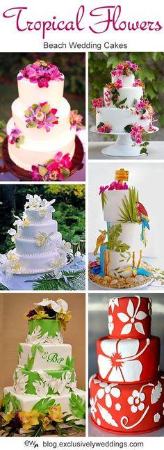 Tropical_Flowers_Wedding_Cake