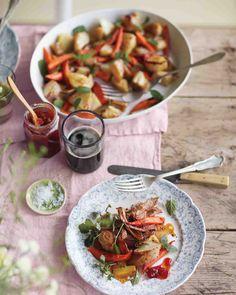 Roasted Root Vegetables and Leeks