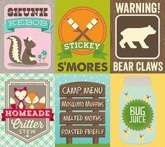 Jillibean_HappyCamper_Printable free camping printable
