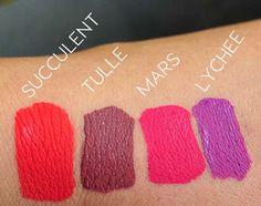 ColourPop Ultra Matte Lip Review & Swatches