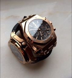 Audemars Piguet Royal Oak Offshore Diver & Royal Oak Chronograph Pink Gold