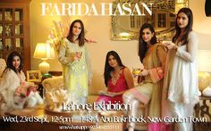 Farida Hasan is one designer you can always count on for gorgeous and wearable Eid outfits. Her latest, luxury Eid collection is a mix of folk embroidered kurtas, net capes, satin finished formals …