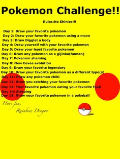 15 day drawing challenge! Comment if you're going to do it! I know I will!