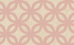 Geometric Wallpaper in Neutrals and Pink by Antonina Vella design for Seabrook