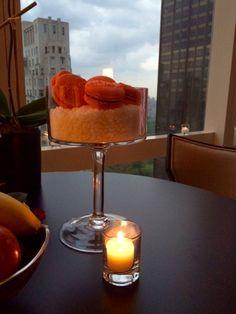 Mandarin Oriental, New York Macaroons. Design Suites, Mandarin Oriental, Orange Juice, Macaroons, Margarita, Biscuits, New York, Tableware, Macaroni