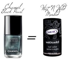 Another Chanel nail polish dupe! Find more @: http://itunes.com/apps/drugstoredupes
