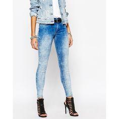 Vero Moda Tall Tie Dye Skinny Jeans | ASOS Addiction | Pinterest ...