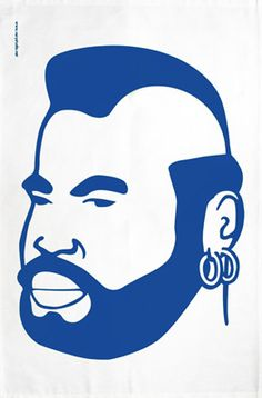 Mr. T house 8810 Art for a man cave
