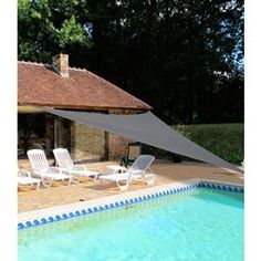 Toldo triangular IDEANATURE - Jardim, mobiliário de jardim