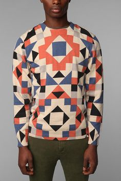Wood Wood Monte Serra Sweater. Printaganza