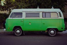 A Volkswagon Vanagon or Westfalia would work, too. Volkswagen Transporter, Volkswagen Type 2, Vw T5, Wheels On The Bus, Vw Camper, Summer Colors, Campervan, Van Life, Automobile