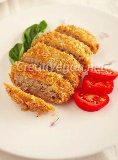 Milanesas de avena. #receta #vegana