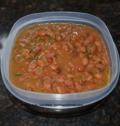FRIJOLES CHARROS...AKA Mexican Bean 'Soup' soooo good usually made when cooking out :) i love this with some potatoe salad. RT